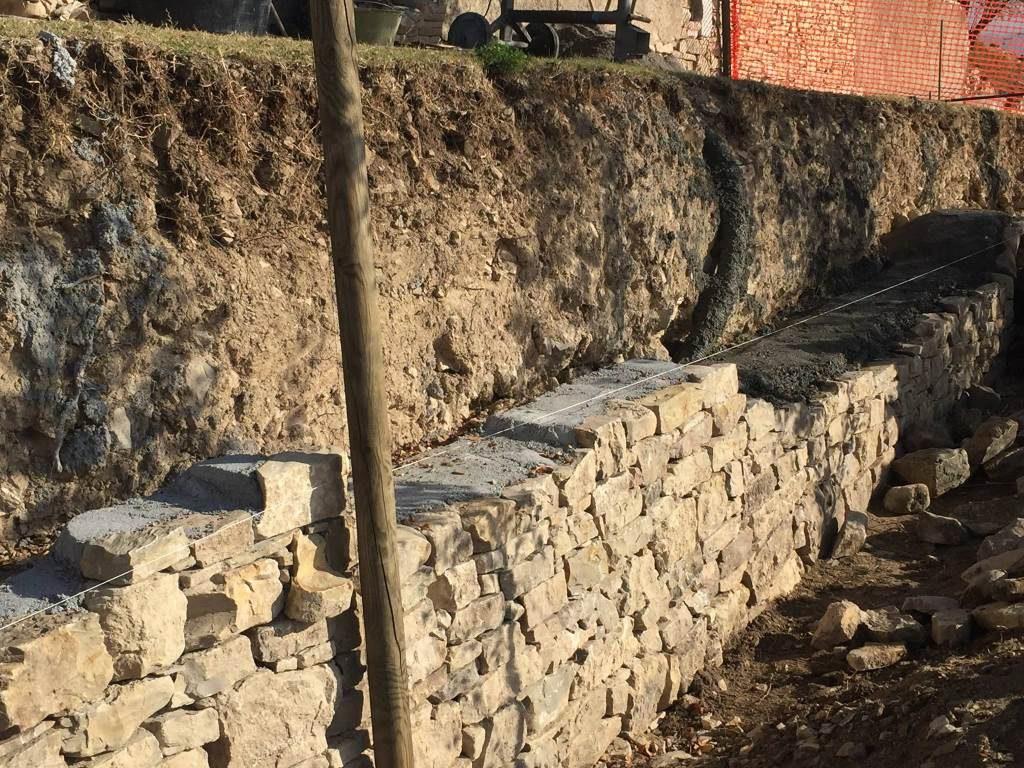 Muri secco Santissima novembre 2017