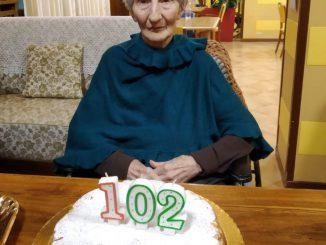 102 anni Maddalena Valetti
