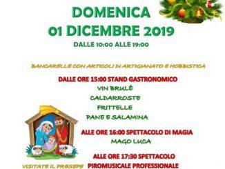 Mercatini Natale oratorio Ronco dicembre 2019