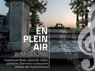 Concerto En plein air agosto 2020