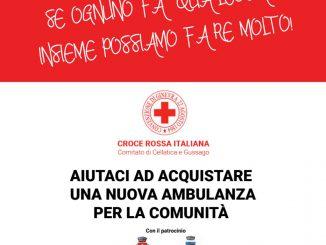 Donazione CRI nuova ambulanza
